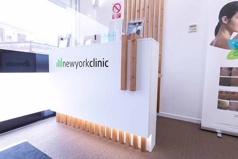 New York Clinic - Recepción